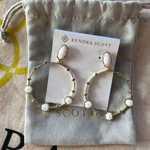 Kendra Scott Gold Sheila Earrings